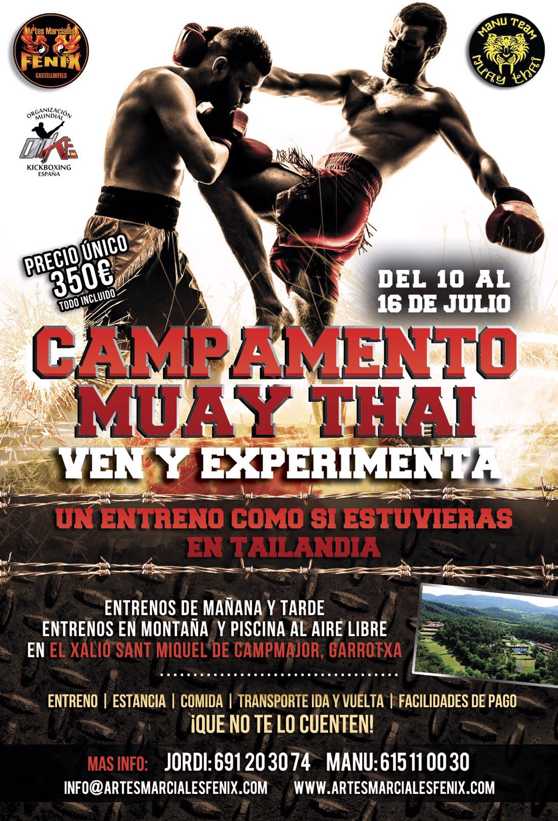 Campamento Muay Thai